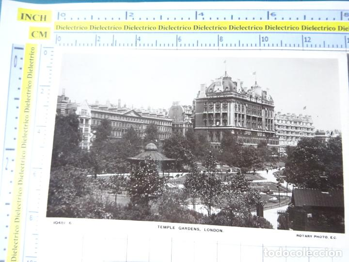 POSTAL DE REINO UNIDO GRAN BRETAÑA. TEMPLE GARDENS LONDON LONDRES. 1842 (Postales - Postales Extranjero - Europa)