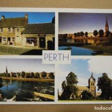 Cartoline: PERTH. FAIR MAID'S HOUSE. RIVER TAY. ST. LEONARDS IN THE FIELD CHURCH. SIN CIRCULAR. Lote 278803033
