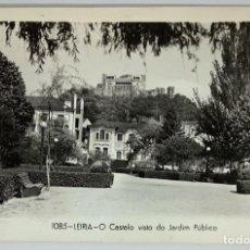 Cartoline: PORTUGAL. LEIRIA, O CASTELO VISTO DO JARDIM PÚBLICO. DULLIA. FOTOGRÁFICA. SIN CIRCULAR.. Lote 278840718