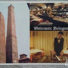 Postales: POSTAL RISTORANTE BOLOGNESE BOLOGNA BOLONIA ITALIA RESTAURANTE DUE TORRI. Lote 278950718