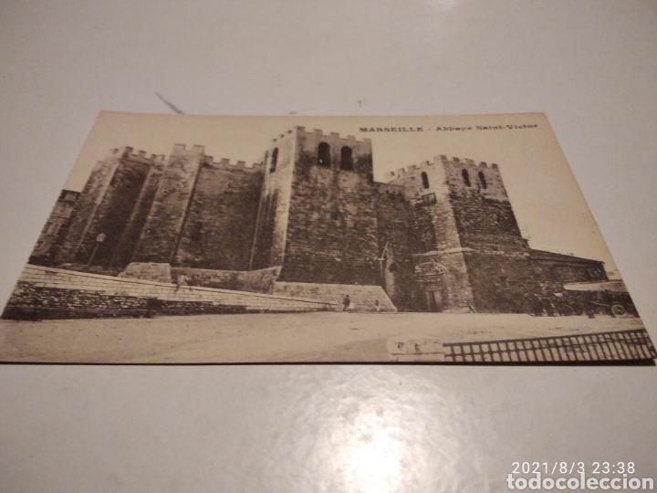 POSTAL MARSEILLE CASTILLO (Postales - Postales Extranjero - Europa)