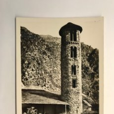 Postales: VALLS D'ANDORRA POSTAL NO.108, SANTA COLOMA., CAMPANAR ROMARIC, V. CLAVEROL (H.1950?). Lote 279581193