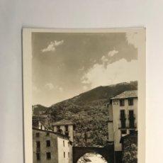 Postales: VALLS D'ANDORRA POSTAL NO.121, LES ESCALDES. PAISATGE DEL RIU VALIRA, V. CLAVEROL (H.1950?) S/C. Lote 279582653
