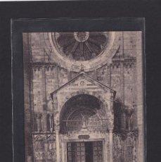 Postales: VERONA - CHIESA S. ZENO - PORTA PRINCIPALE (ITALIA). Lote 279584078