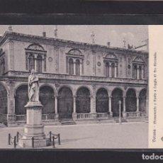 Postales: VERONA - MONUMENTO A DANTE E LOGGIA DI FRÀ GIOCONDO (ITALIA). Lote 279584233