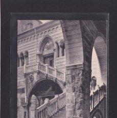 Postales: VERONA - PALAZZO DELLA RAGIONE - SCALA MONUMENTALE (ITALIA). Lote 279584593