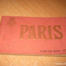 Postales: BLOC DE POSTALES DE PARIS. Lote 279594093
