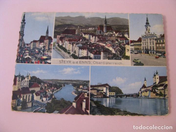 POSTAL DE AUSTRIA. STEYR A. D. ENNS. CIRCULADA. 1960. (Postales - Postales Extranjero - Europa)