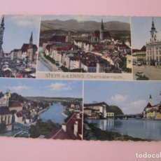 Postales: POSTAL DE AUSTRIA. STEYR A. D. ENNS. CIRCULADA. 1960.. Lote 280107318