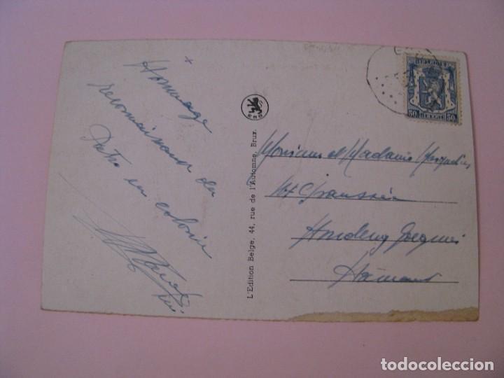 Postales: POSTAL DE BELGICA. RIO MOSA. Y VOIR SUR MEUSE. CIRCULADA. - Foto 2 - 280108123