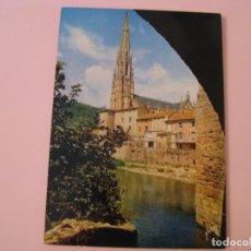 Postales: POSTAL DE FRANCIA. COULEURS ET LUMIERE DE FRANCE. SAINT AERIQUE (AVEYRON).. Lote 280109398