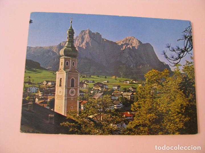 POSTAL DE ITALIA. DOLOMITEN SCHLERNGEBIET KASTELRUTH. (Postales - Postales Extranjero - Europa)