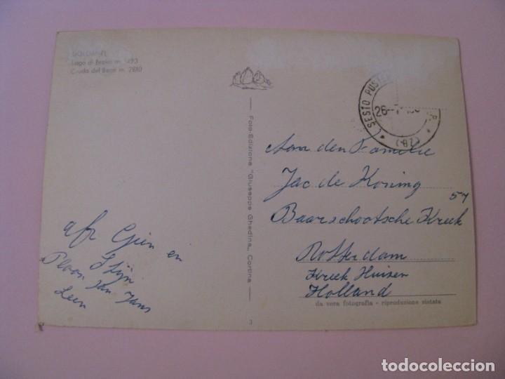 Postales: POSTAL DE ITALIA. DOLOMITI. CIRCULADA - Foto 2 - 280111073