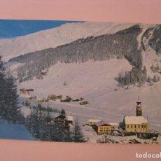 Postales: POSTAL DE ITALIA. SUDTIROL. UNSER FRAU, SCHNALSTAL, MADONNA IN VAL SENALES. CIRCULADA. Lote 280111323