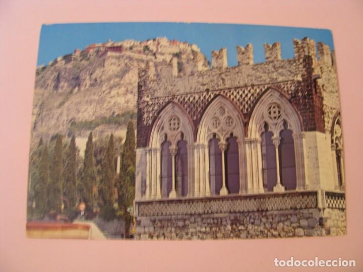 POSTAL DE ITALIA. TAORMINA, BADIA VECCHIA. CIRCULADA 1979. (Postales - Postales Extranjero - Europa)