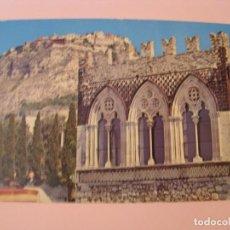 Postales: POSTAL DE ITALIA. TAORMINA, BADIA VECCHIA. CIRCULADA 1979.. Lote 280111358