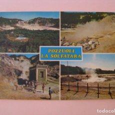 Postales: POSTAL DE ITALIA. POZZUOLI LA SOLFATARA. ESCRITA.. Lote 280111653