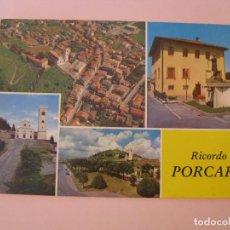 Postales: POSTAL DE ITALIA. RICORDO DI PORCARI. ESCRITA.. Lote 280111738