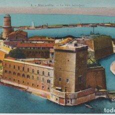 Cartoline: FRANCIA MARSELLA EL FUERTE DE SAN JUAN 1934 POSTAL CIRCULADA. Lote 287332408