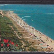 "Postales: ITALIA, MARINA DI RAVENNA LA PLAYA ""CAMPING INTERNAZIONALE PIOMBONI"". Lote 288061273"