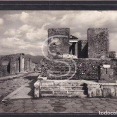 Postales: ITALIA, POMPEYA TEMPLO DE FORTUNA AUGUSTA, 1957. Lote 288061678