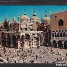 Postales: ITALIA, VENECIA LA BASÍLICA DE SAN MARCO. Lote 288061733