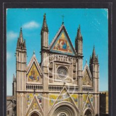 Postales: ITALIA, ORVIETO LA CATEDRAL (LORENZO MAITANI), 1967. Lote 288062243
