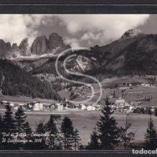 Postales: ITALIA, 52-16 VAL DI FASSA - CAMPITELLO M. 1442 IL SASSOLUNGO M. 317. Lote 288062498