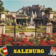 Postales: AUSTRIA, SALZBURG, JARDIN MIRABELL – MM FS 69 – S/C. Lote 288100798