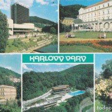 Postales: REPUBLICA CHECA, KARLOVY VARY, CIUDAD BALNEARIO – FOTO P. BRUNCLIK – S/C. Lote 288101133
