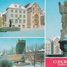 Postales: REPUBLICA CHECA, CHEB, VARIAS VISTAS DE LA CIUDAD – FOTO KAREL KUKLIK – S/C. Lote 288101198