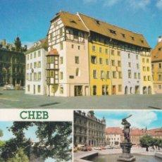 Postales: REPUBLICA CHECA, CHEB, VARIAS VISTAS DE LA CIUDAD – FOTO KAREL KUKLIK – S/C. Lote 288101533