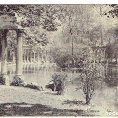 Postales: FRANCIA, POSTAL ANTIGUA, PARIS,PARC MONCEAU, SIN CIRCULAR,. Lote 288391453