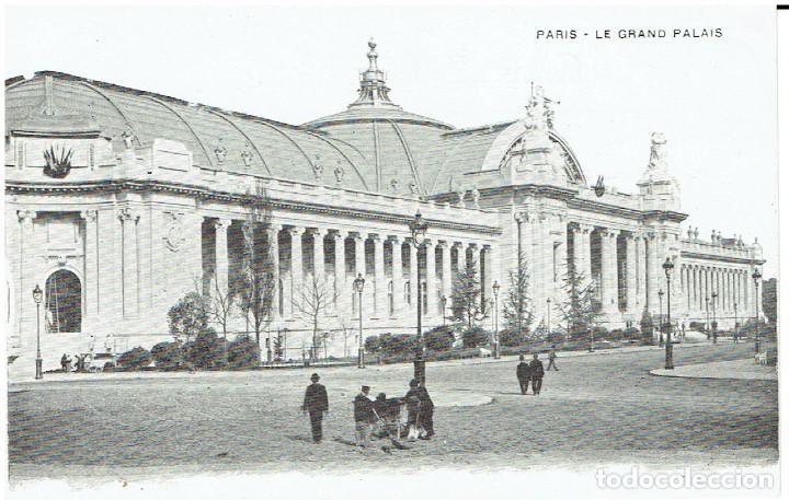 FRANCIA, POSTAL ANTIGUA, PARIS, LE GRAND PALAIS, SIN CIRCULAR, (Postales - Postales Extranjero - Europa)