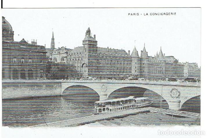 FRANCIA, POSTAL ANTIGUA, PARIS, LA CONCIERGIRE, SIN CIRCULAR, (Postales - Postales Extranjero - Europa)