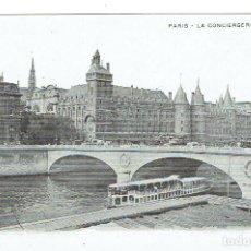 Postales: FRANCIA, POSTAL ANTIGUA, PARIS, LA CONCIERGIRE, SIN CIRCULAR,. Lote 288391943