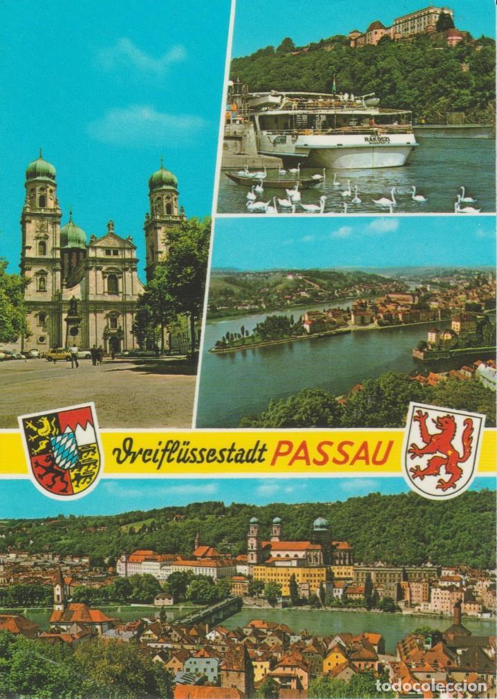 PASSAU. ALEMANIA ... 1 ESQUINA CON DOBLEZ (Postales - Postales Extranjero - Europa)