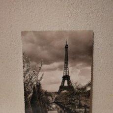 Postales: ANTIGUA POSTAL -10*15- TORRE EIFFEL PARIS - CAJON - AÑOS 60 - EDICIONES ALFA. Lote 288415348