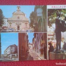 Postales: POSTAL CARTE POSTALE FRANCIA FRANCE CÔTE D´AZUR COSTA AZUL VALLAURIS HOMME PICASSO L´EGLISE IGLESIA.. Lote 288430708