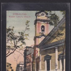 Postales: GIBRALTAR, ROMAN CATHOLIC CHURCH. Lote 288540338