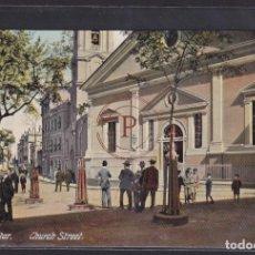 Postales: GIBRALTAR. CHURCH STREET. (SIN CIRCULAR). Lote 288540938