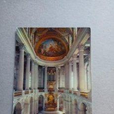 """Postales: POSTAL DE """"COULEURS ET LUMIERE DE FRANCE- CHATEAU DE VERSALLES- LA CAPELLE RAYALE- EKB.-1484. Lote 288546133"""