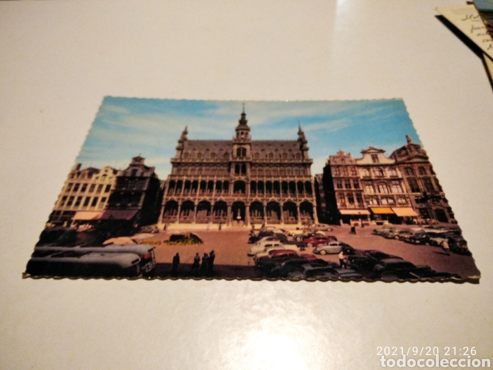 POSTAL BRUSELAS (Postales - Postales Extranjero - Europa)