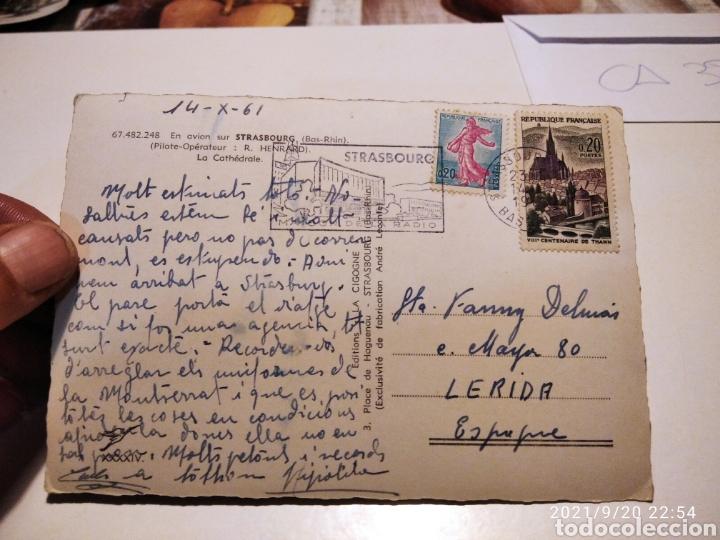 Postales: Postal Strasbourg Catedral - Foto 2 - 288575733