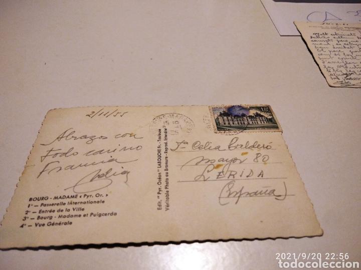 Postales: Postal antigua Bourg Madame - Foto 2 - 288575903