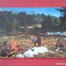 Postales: POSTAL CARTE POSTALE FRANCIA FRANCE CÓRCEGA CORSE EN MONTAGNE UN MOMENT DE REPOS LAC DE CRENA REPOSO. Lote 288864493