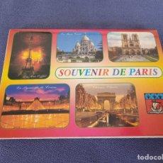 Postales: GRUPO DE POSTALES. PARIS. Lote 288870978