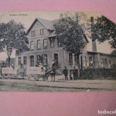 Postales: POSTAL DE ALEMANIA. SCHWAAN. MOLKEREI SCHWAAN. ED. KRILLE & MARTIN. CIRCULADA 1919.. Lote 289257093
