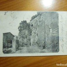 Postales: RUPE TARPEA.ROMA(ITALIA)POSTAL CIRCULADA A YECLA 1904.. Lote 289348773
