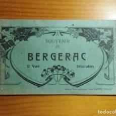 Postales: BERGERAC(FRANCIA) LIBRILLO CON 11 POSTALES,EDIC.L.GARDE,AÑOS 20.. Lote 289350403